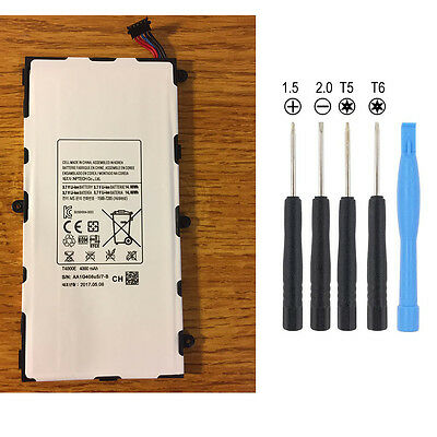 "Battery For Samsung Galaxy Tab 3 7.0"" - 4000 mAh SM-T210 T211 T215 T4000E +Tools"