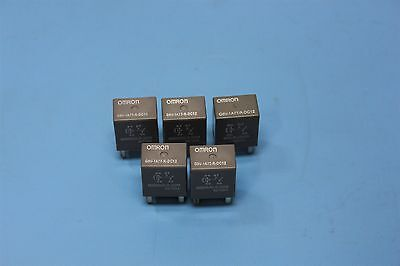 5pcs. NEW OMRON AUTOMOTIVE RELAY RELAYS G8V-1A7T-R-DC12