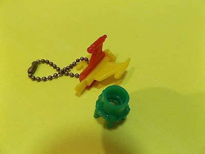 Space toy rocket Keychain puzzle parts from the 1950's / 60's Take A Part