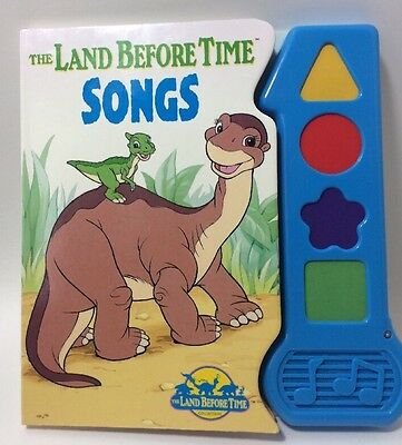 Rare Land Before Time Songs Book Musical Play A Song