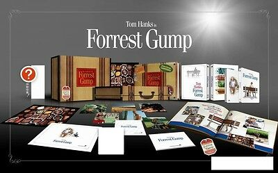 Forrest Gump Blu-ray SteelBook Blufans OAB Collector Edition Non-OST Version New