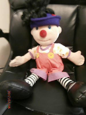 Loonette The Clown Big Comfy Couch Molly Doll 20 Inches Vintage