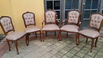 Dining Chairs - French Provincial Louis XV