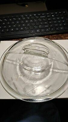 "Vintage Guardian Service Ware 8"" Glass Lid"