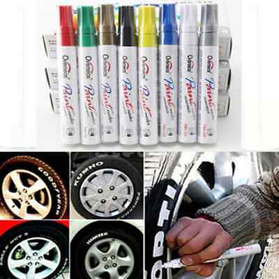 Superb Paint Pencil Waterproof Permanent Car Tyre Tire Tread Rubber Marker Pens