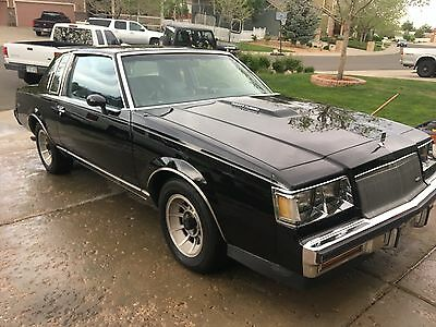 1987 Buick Regal grey 1987 buick regal limited turbo