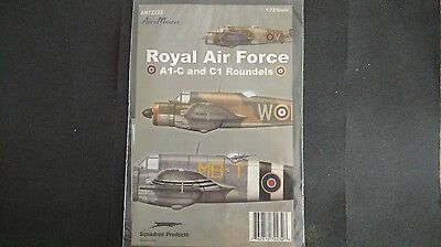1/72 Aeromaster RAF Roundels Type A1C and C1