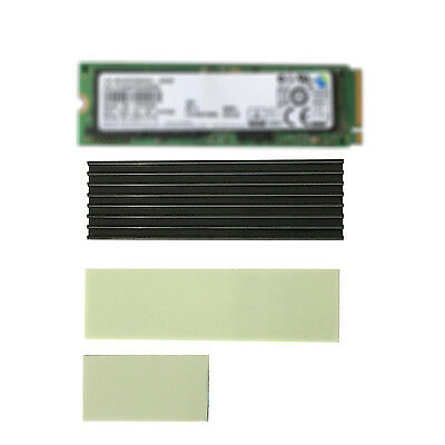 M.2 NGFF SM961 960PRO PM951 NVMe 2280 SSD Heat Sink Thermal Pad Cooling Fin