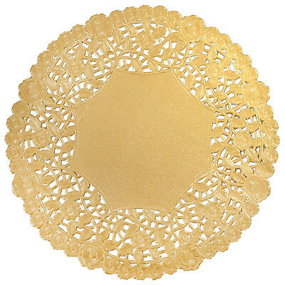 """GOLD FOIL Paper Doilies 