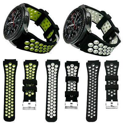 Sports Silicone Bracelet Watch Strap Band For Samsung Gear S3 Frontier/Classic