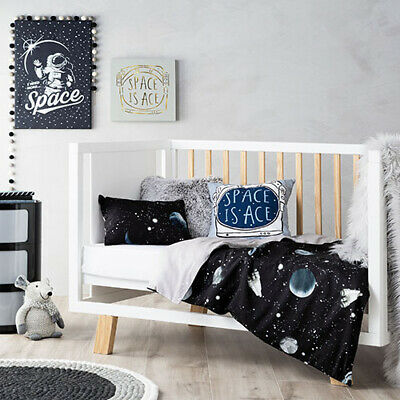 ADAIRS KIDS Intergalactic stars COT (Junior Bed) QUILT COVER SET BNIP planets
