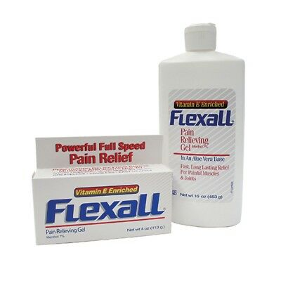 Flexall Pain Relieving Gel (113/454) Physio Cream for Muscle Ache Relief