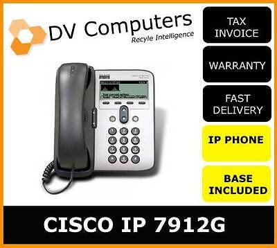CISCO Unified IP phone 7911 G PoE with Stand & 3 Month warranty NO Power unit