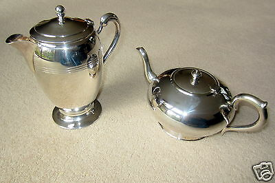 Sterling Silver - Tea Pot and Hot Water Jug
