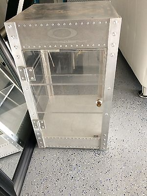 Rare Oakley Sunglasses X Metal Solid Aluminium Store Show Display Case Vintage