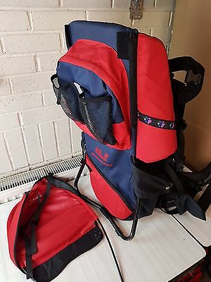 Baby Carrier Back Pack Jack Wolfskin Watchtower Deluxe