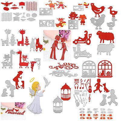New Launched Cutting Dies Stencil Scrapbooking Embossing Album Paper Card Craft