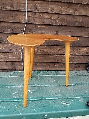 Retro Vintage Kidney Shaped Side Table from the 50s/60s