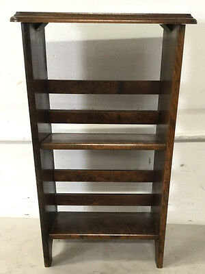 Vintage Country Style Small Bookcase / Rack Lot 2478