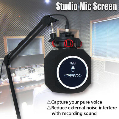 Studio Mic Screen Acoustic Filter Desktop Recording Microphone Wind Screen