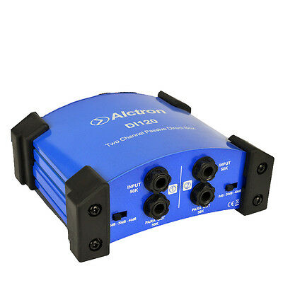 2 Channel Passive DI box The Impedance Converter Stage Effect Device