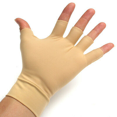 1/2 pair Arthritis Gloves Compression Support Hand Wrist Finger Pain Relief