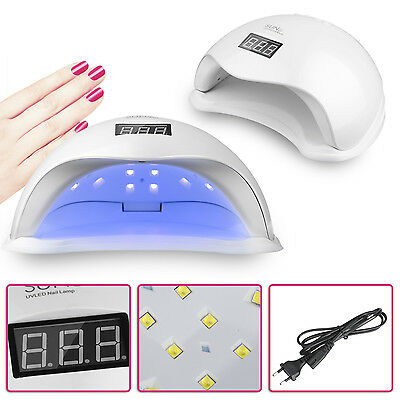 Prof  SUN5 48W UV / LED Lampe à Ongles Gel Vernis à ongles Miniteur Automatique