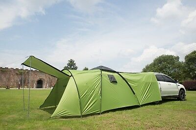3-4 Person Camping Tent Family Traveling Outdoor Sport Waterproof Car Tent NEW 7