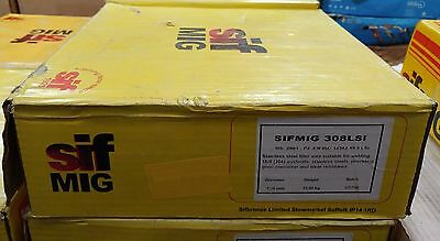 SIFMIG Stainless Steel Mig Welding Wire 308 LSi 1.2mm 15Kg 308LSi