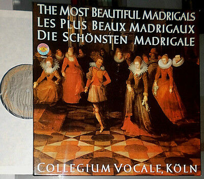 Collegium Vocale Köln Madrigale The Most Beautiful Madrigals Madrigaux 3-Lp Box