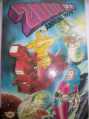 2000 AD Annual 1979 Good Condition loads of cartoons
