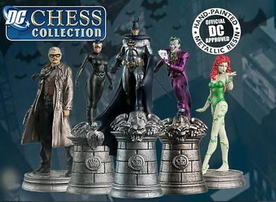 DC Comics marvel chess pieces various figures some rare characters, REDUCED,