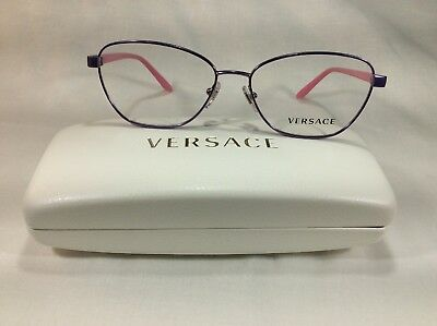 909a602b61 NEW AUTHENTIC VERSACE Mod. 1221 1347 Purple   Pink 54 15 135 ...