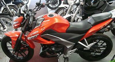 Brand new Kymco CK1 125cc motorcycle in flame orange