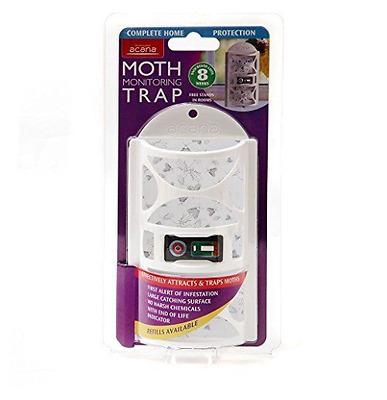 Acana-Moth Monitoring Trap Killer Freshener Hanging Room Wardrobe Home Fresh