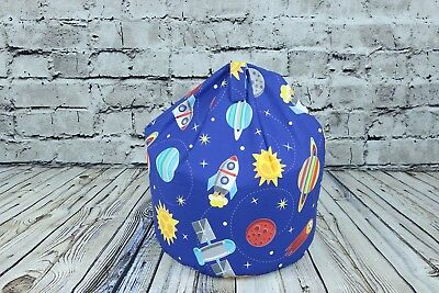 BetterDreams Exclusive Space Rocket Bean Bag Chair For Kids Filled Bean Bag