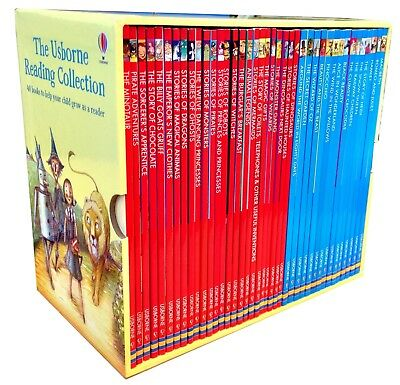 The Usborne Reading Collection (yellow set)  ...  NOTE:  RRP is AUD $250.00