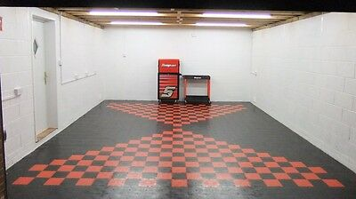 Double Garage Flooring Interlocking Floor tiles £17.98psm heavy duty £425 deliv