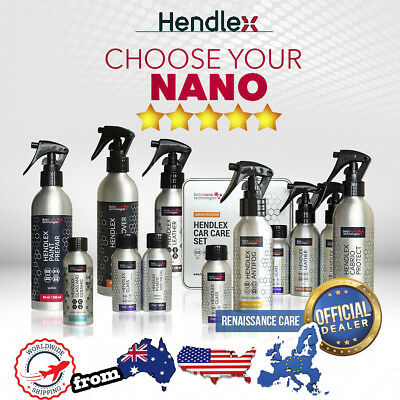 Hendlex Ceramic Nano Coating Car Body Windows Leather Plastics Paint Protection