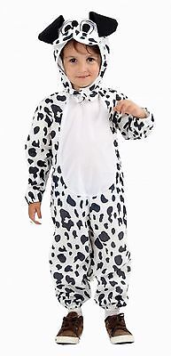 Dog Dalmation Fancy Dress Toddler World Book Day Children Party Costume 2-4
