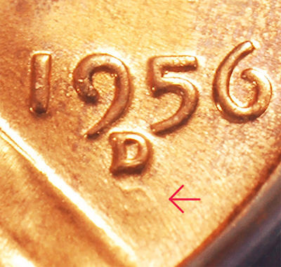 1956-D/D Lincoln cent RPM #8 FS-501 FS-022 ANACS MS-66 RED Free S&H