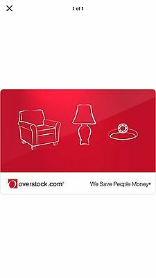 Overstock.com Gift Card Free Shipping!