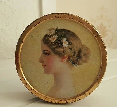 Vintage Collectable The Chambers Candy Cameo Collection Tin