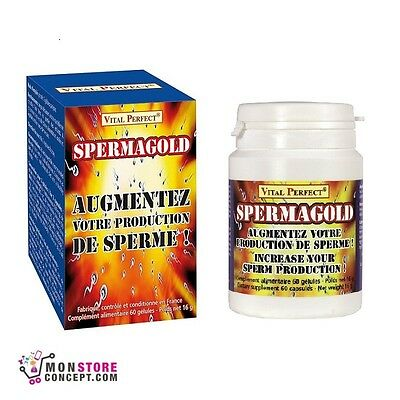 Spermagold 60 gélules - Vital Perfect