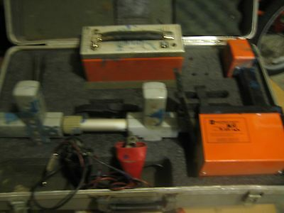 metrotech 810 receiver and transmitter AND CASE