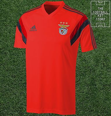 SL Benfica Training Jersey - Official Adidas Football Shirt - Mens - All Sizes
