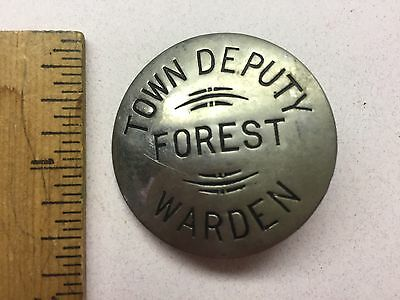 "Obsolete ""Town Deputy Forest Warden"" Badge"