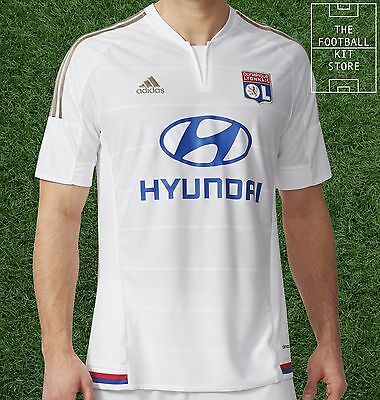 Lyon Home Shirt - Official Adidas Football Shirt - Mens - All Sizes
