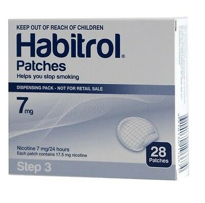 Step 3 Habitrol Transdermal Nicotine Patch (28 Count) NEW