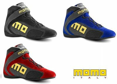 Momo boots Boots Pro Racer KRT SCAPKRTBLU41 Blue or Gray size 41 / 42